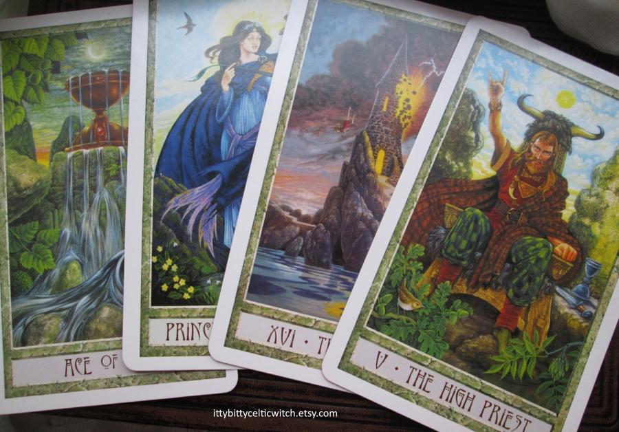 Druidcraft Tarot Cards - Intuitive Tarot Reading