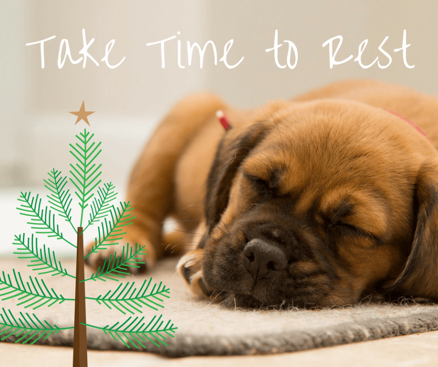 Take Time to Rest During Yule