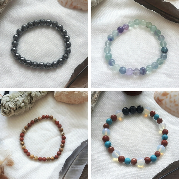Handmade Crystal Healing Bracelets